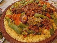 cuscus marroquí