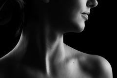 Cuello de mujer