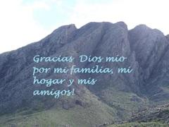 Agradecer a Dios