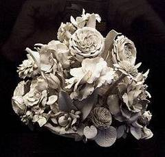 Flor de porcelana fría
