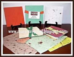 Cómo hacer papel artesanal