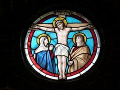 Jesucristo vidrio