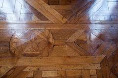 piso de parquet