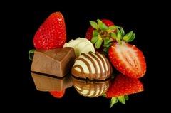 Postres de chocolate