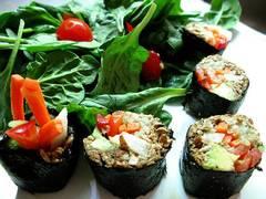 Sushi crudivegano