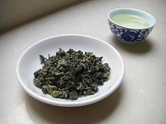 Variedad de té azul u oolong