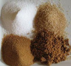 Tipos de azúcares