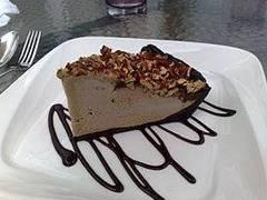 torta de chocolate y palta