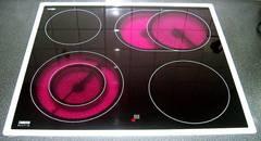 Cocina de vitrocerámica