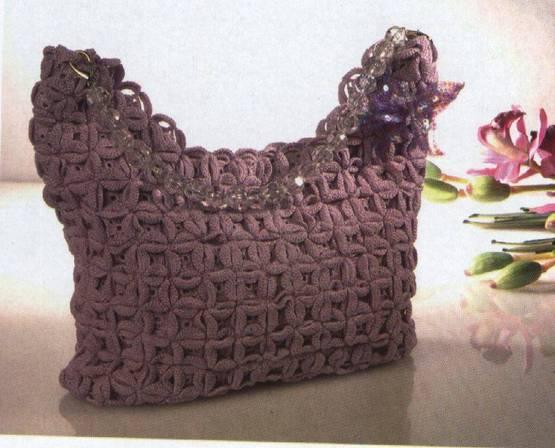 C�mo hacer un bonito bolso tejido a crochet