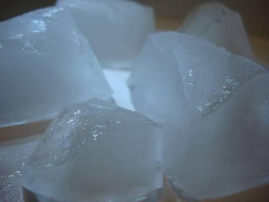 cubos de hielo