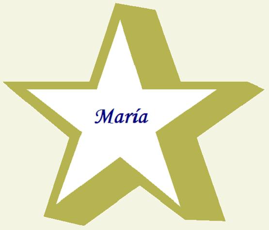 Manualidades para navidad plantillas de estrellas campanas - Plantilla estrella navidad ...