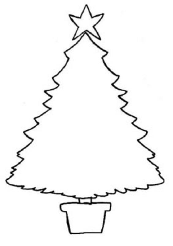 Dibujos de navidad para pintar e imprimir dibujos de la - Arbol de navidad para imprimir ...