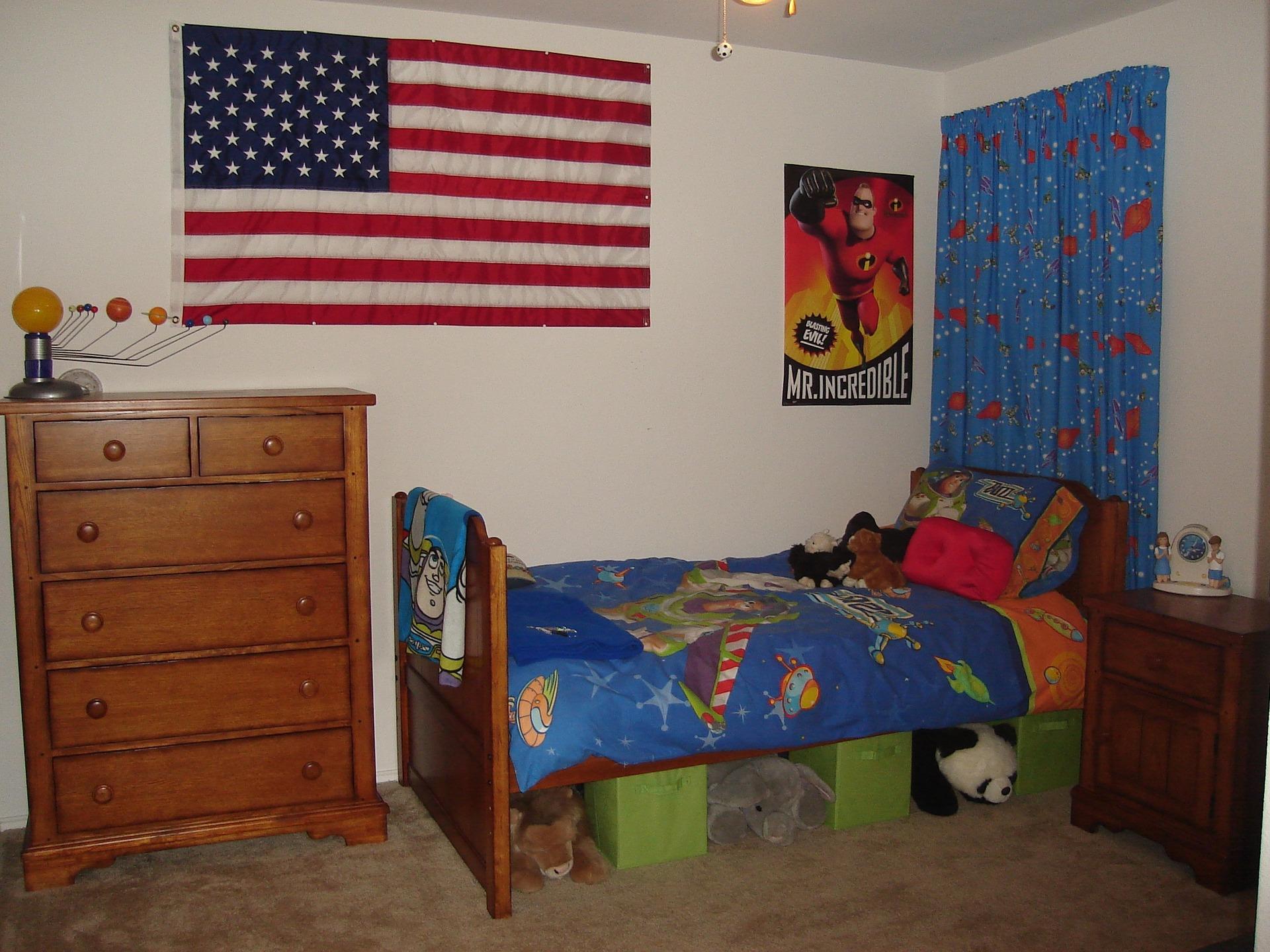 C mo decorar un dormitorio para ni os gastando poco dinero - Dormitorios para nino ...