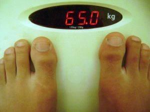 Peso dieta para perder peso e definir debido