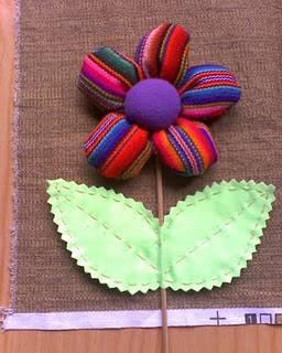 C mo hacer flores con tela c mo hacer una flor de tela - Flores de telas hechas a mano ...