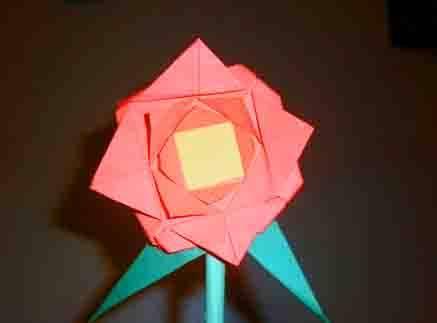 Pasos para hacer una flor en papiroflexia :: Flor en papiroflexia ...