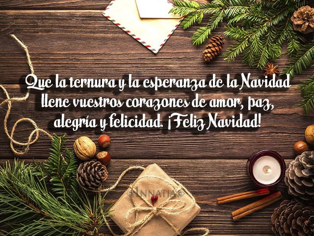 Imágenes De Navidad Con Frases Bonitas De Amor De Niños Y