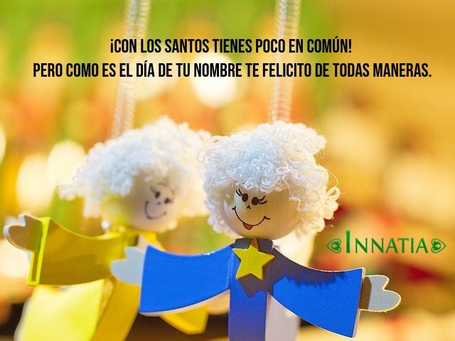 Felicitaciones Santos Bonitas.40 Felicitaciones De Santo Gratis Originales Graciosas Y