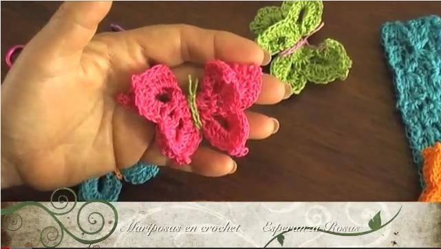Como se hace una mariposa en ganchillo :: Cómo hacer mariposas a ...