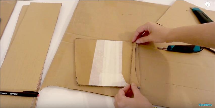 C mo hacer un mueble de cajas de cart n con cajones for Muebles de carton pdf
