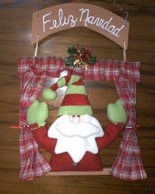 C mo decorar la casa en navidad con pap noel ideas con - Decorar casa navidad manualidades ...