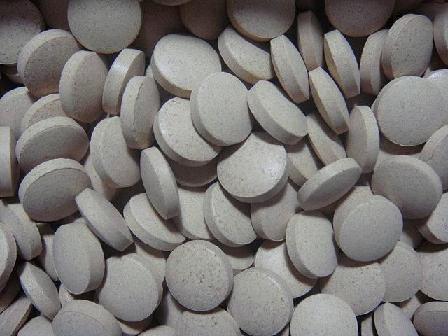 Comprimidos de levadura