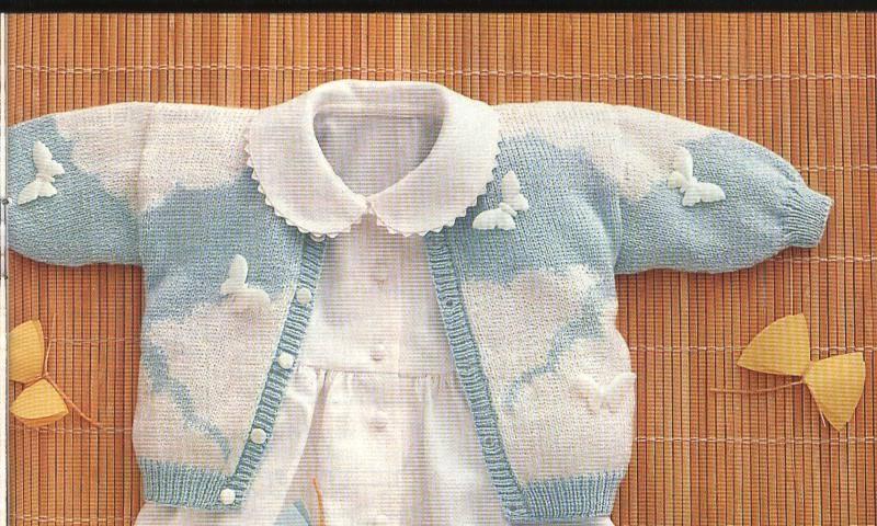 Patrones para tejer ropa de bebés :: Patrones de tejido a dos ...
