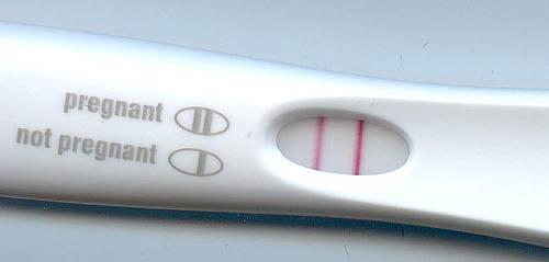 Cuando se sabe que estas embarazada