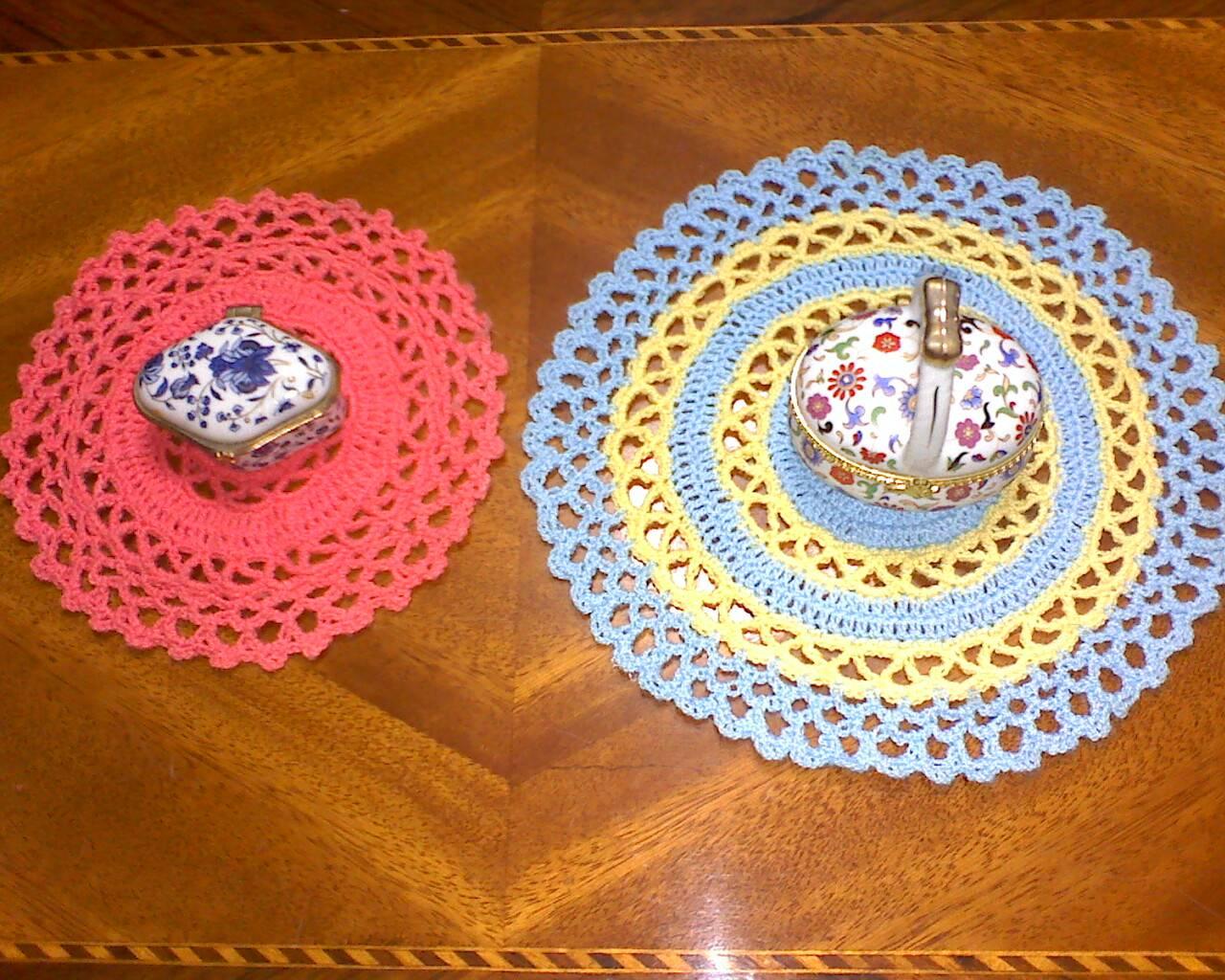Tapetes tejidos a crochet todosimple car interior design for Tapetes de crochet