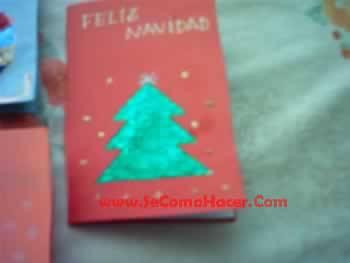 Tarjeta de felicitaci n de navidad tarjetas navide as - Tarjetas navidenas para hacer ...