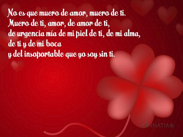 Versos De Amor Para San Valentín Poesías Para El Día De Los