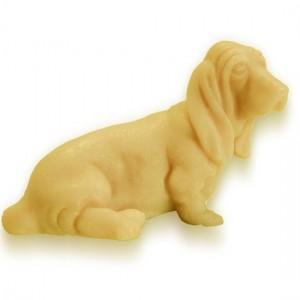 Molde en forma de perro salchicha para hacer jabón