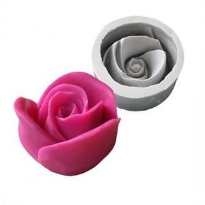 Molde en forma de rosa para hacer jabón